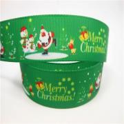 Лента репсовая Merry Christmas