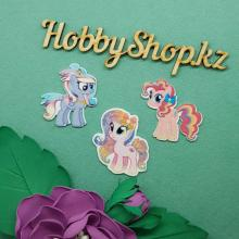 Кабошоны My Little Pony 3х3,5см