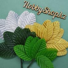 Листья на проволоке (10шт)