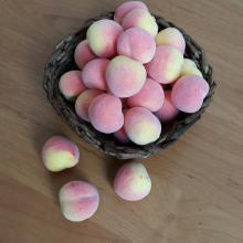 Персики искусственные (5 шт)