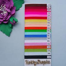 Лента органзовая цветная 6 мм