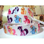 Лента репсовая My Little Pony 2,5см