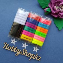 Резинки для волос МИНИ бамбуковые 12 шт