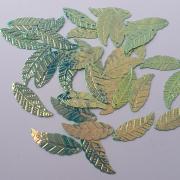Пайетки Ивовые листья