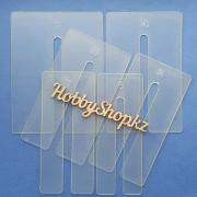Шаблоны из пластика для БОЛЬШИХ бантиков