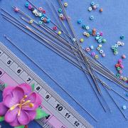 Иглы для вязания и плетения бисером 10см