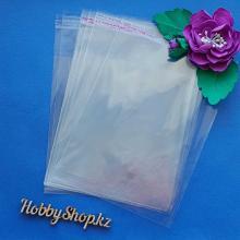 Пакеты фасовочные с клейкой лентой 14х20см (10шт)