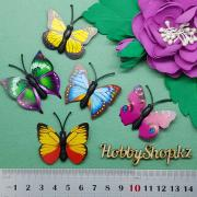 Бабочки декоративные 4см (5шт)