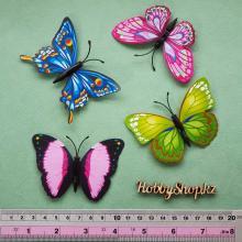 Бабочки декоративные 8см (5шт)